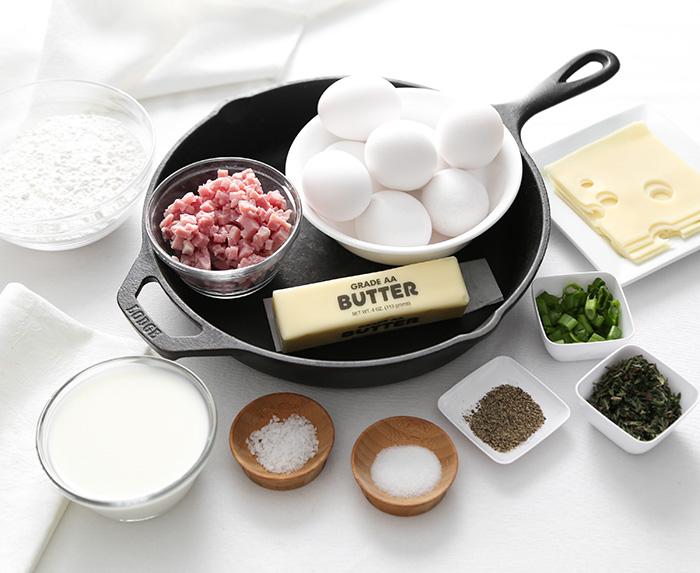 Ham and Swiss Dutch Baby Recipe