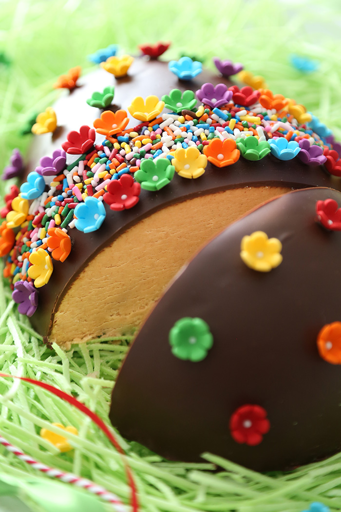 Giant Chocolate Peanut Butter Egg