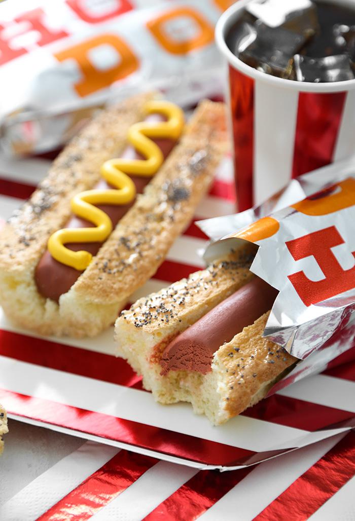 Hot Dog Snack Cakes