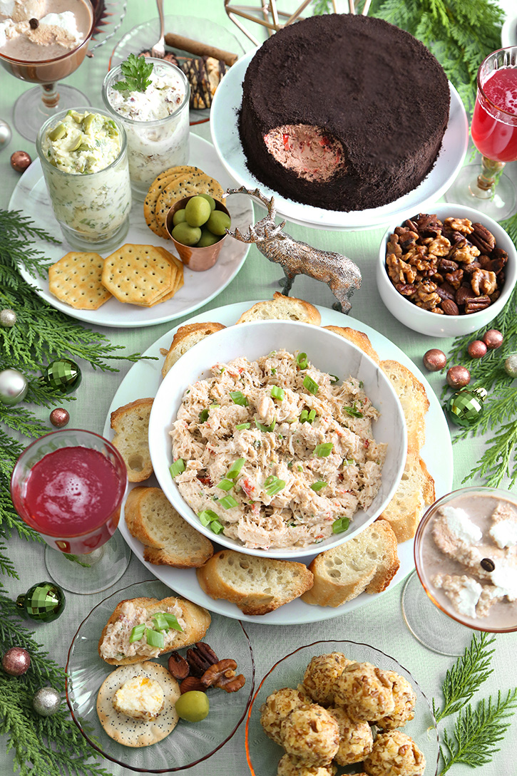 Holiday Open House Menu with Recipes
