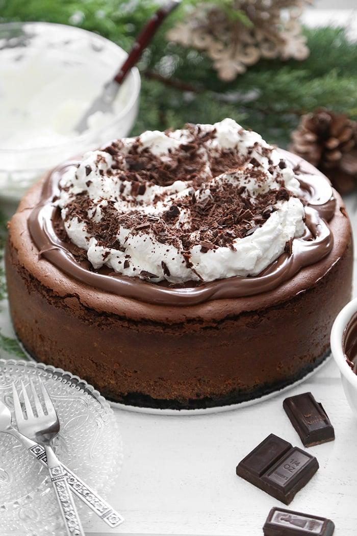 Chocolate Hazelnut Cheesecake