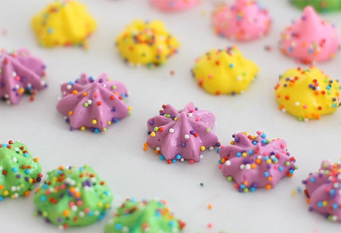 Chickpea Water or Aquafaba Meringue Cookies