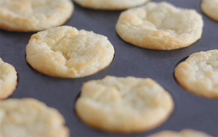 Three Ingredient Cream Cheese Mini Biscuits