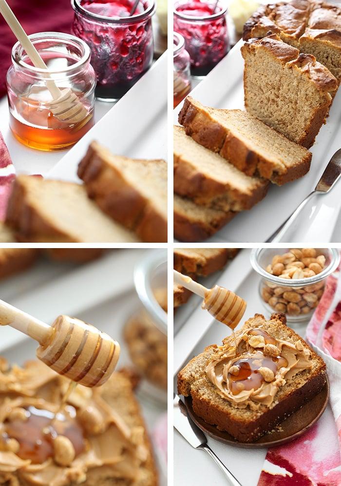 Depression Era Peanut Butter Bread
