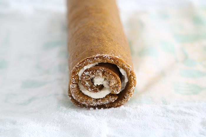 Birch Yule Log Cake