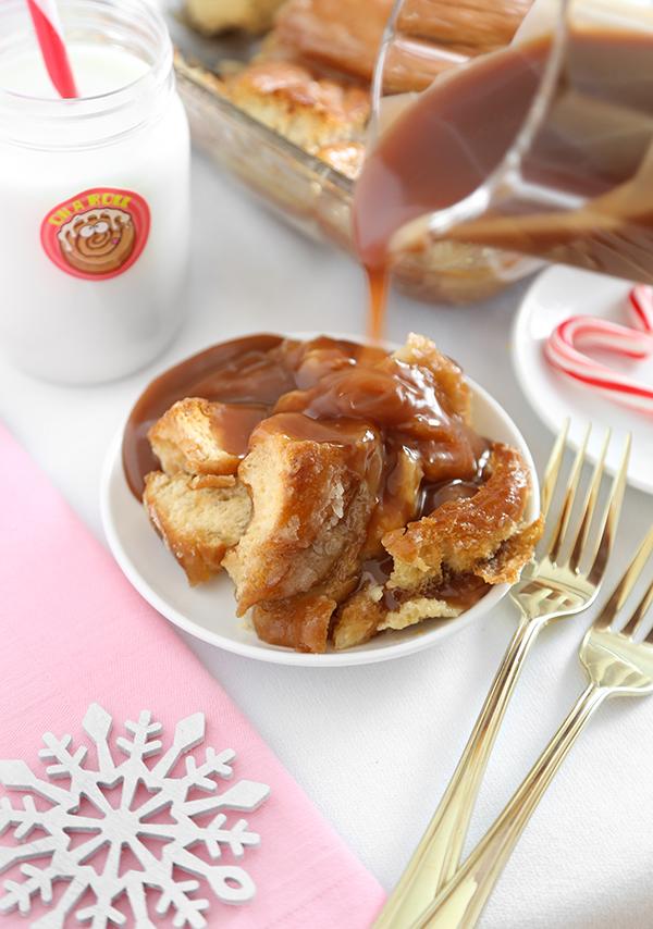 Honey Buns Bread Pudding