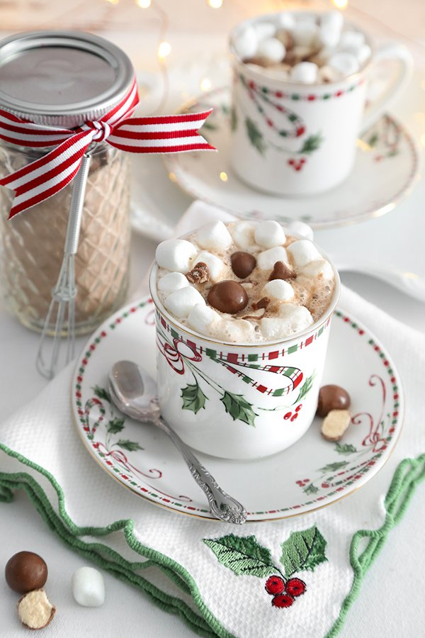 Instant Malted Hot Cocoa