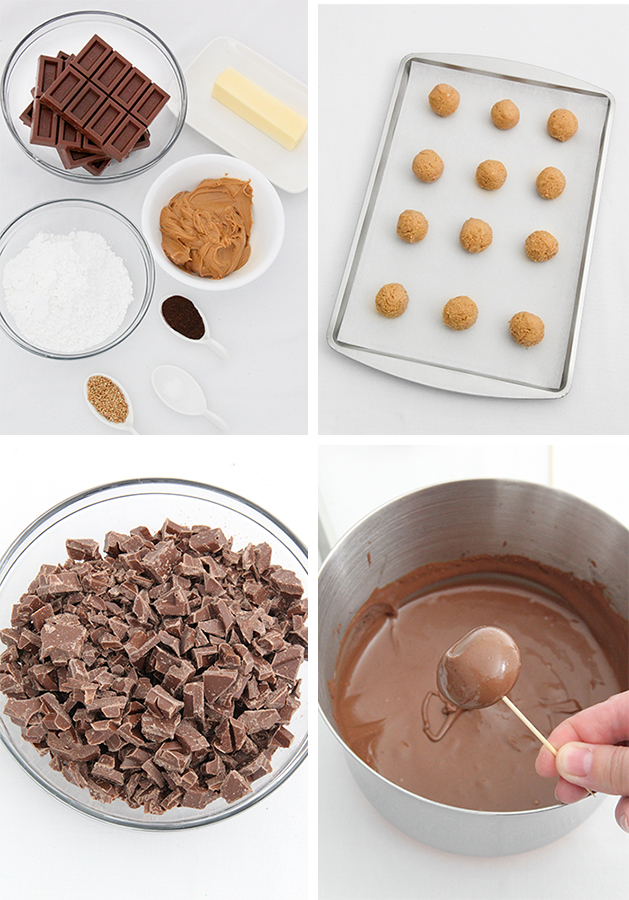 Toasted Sesame Peanut Butter Balls