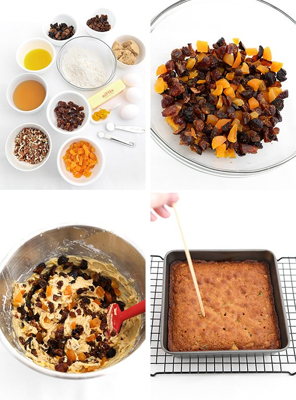 Spiced Rum Cake Mini Trifles