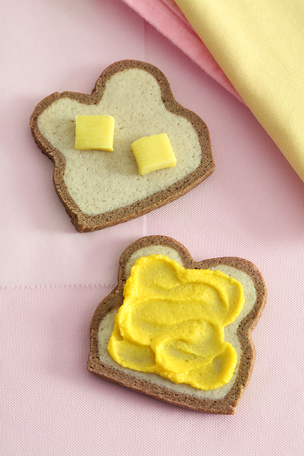 Bread Slice Sugar Cookies