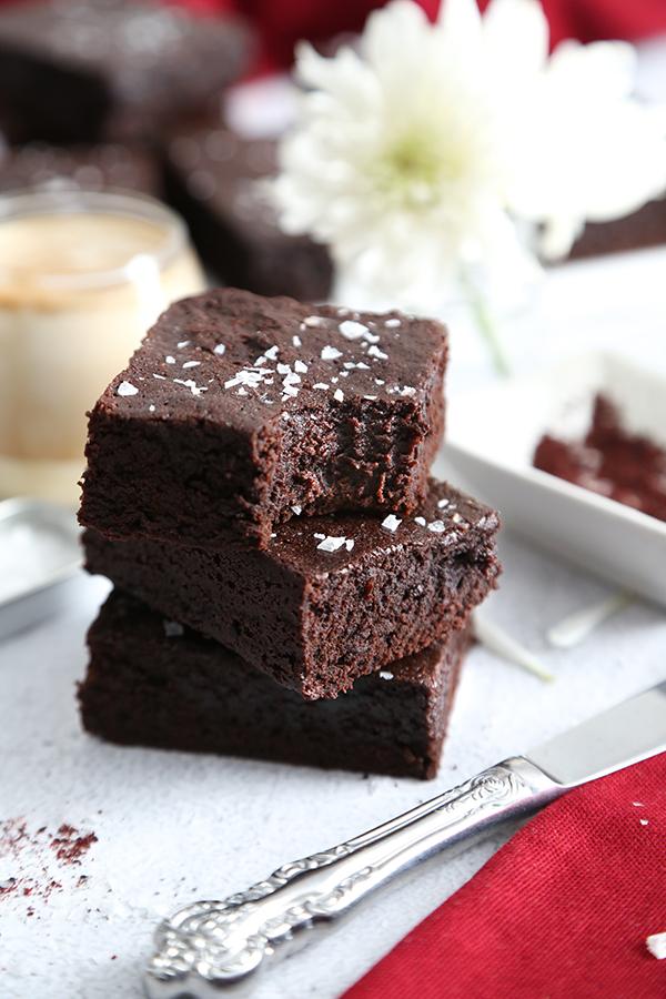 Dark Chocolate Sumac Brownies