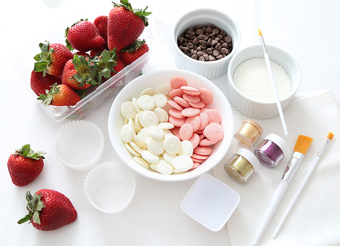 Fancy Chocolate-Covered Strawberries