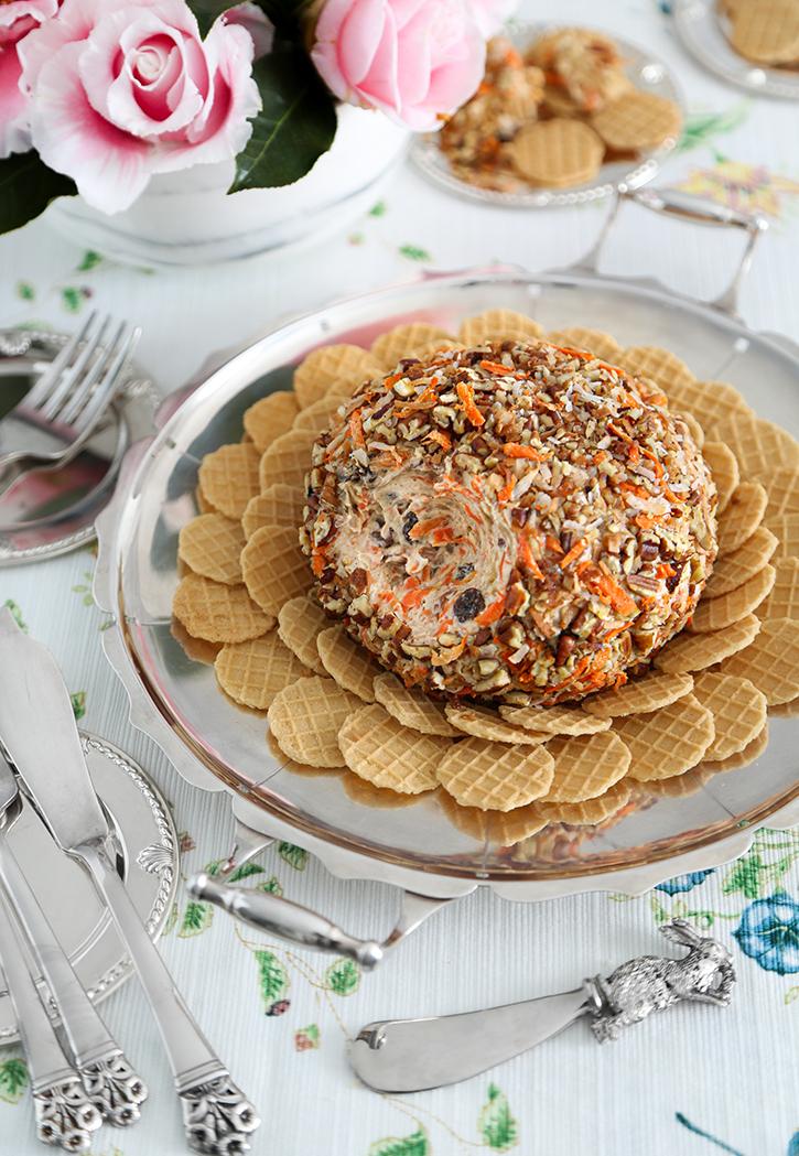 Carrot Cake Cheese Ball