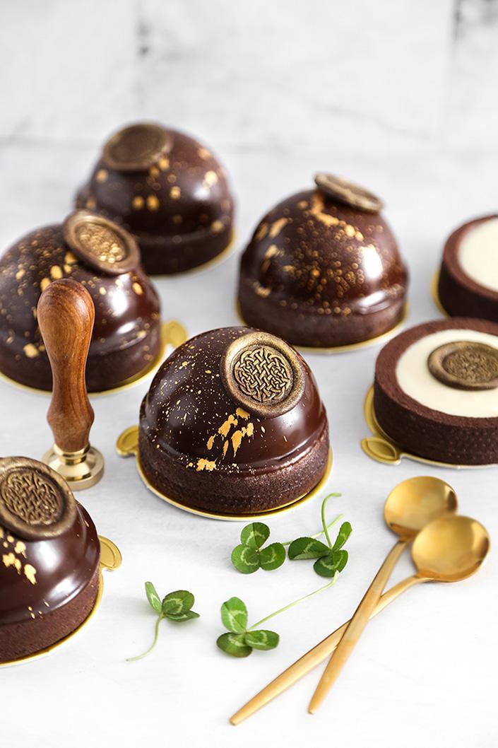 Irish Cream Chocolate Tarts