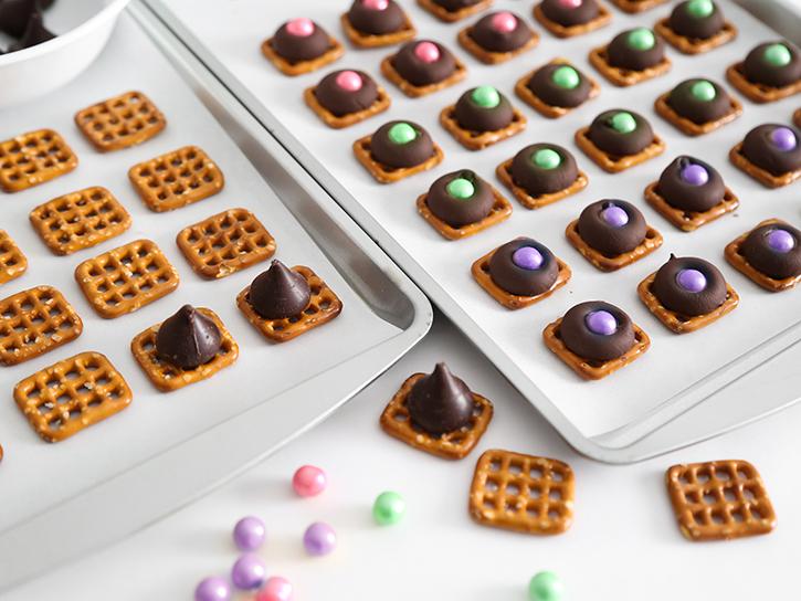 Pretty sweets for a dessert board