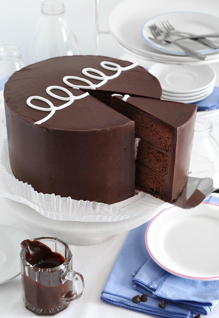 Giant Hostess Cupcake Cake