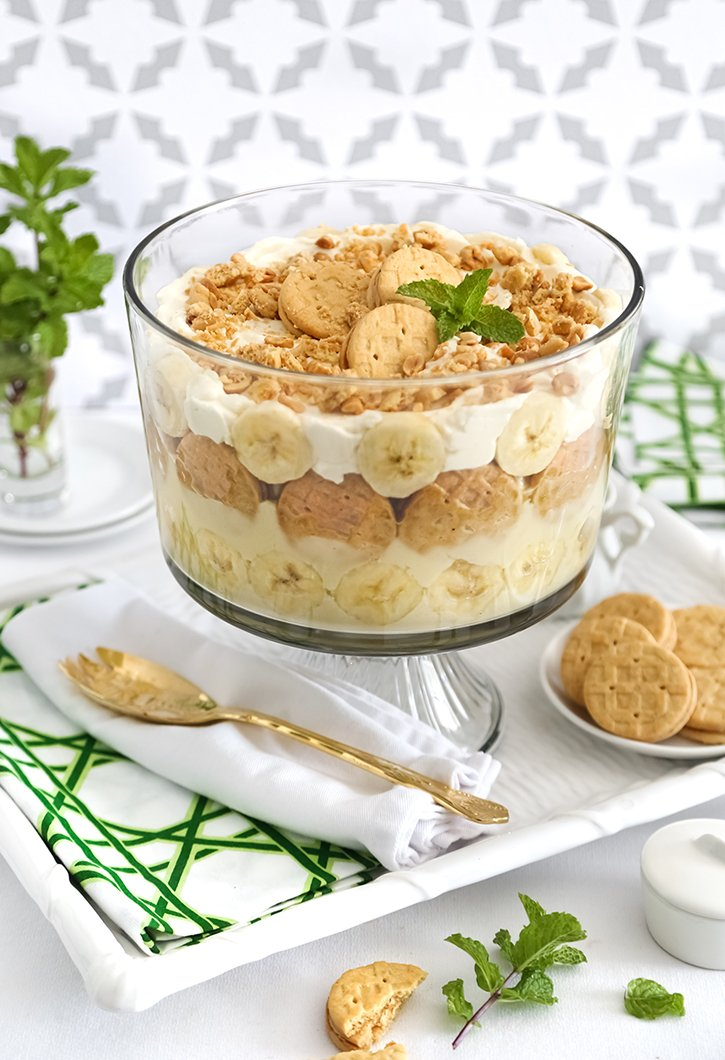 Peanut Butter Cookie Banana Pudding