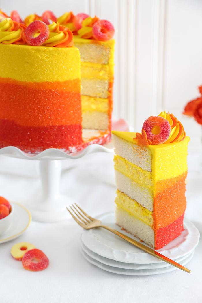 Peach Ring Cake