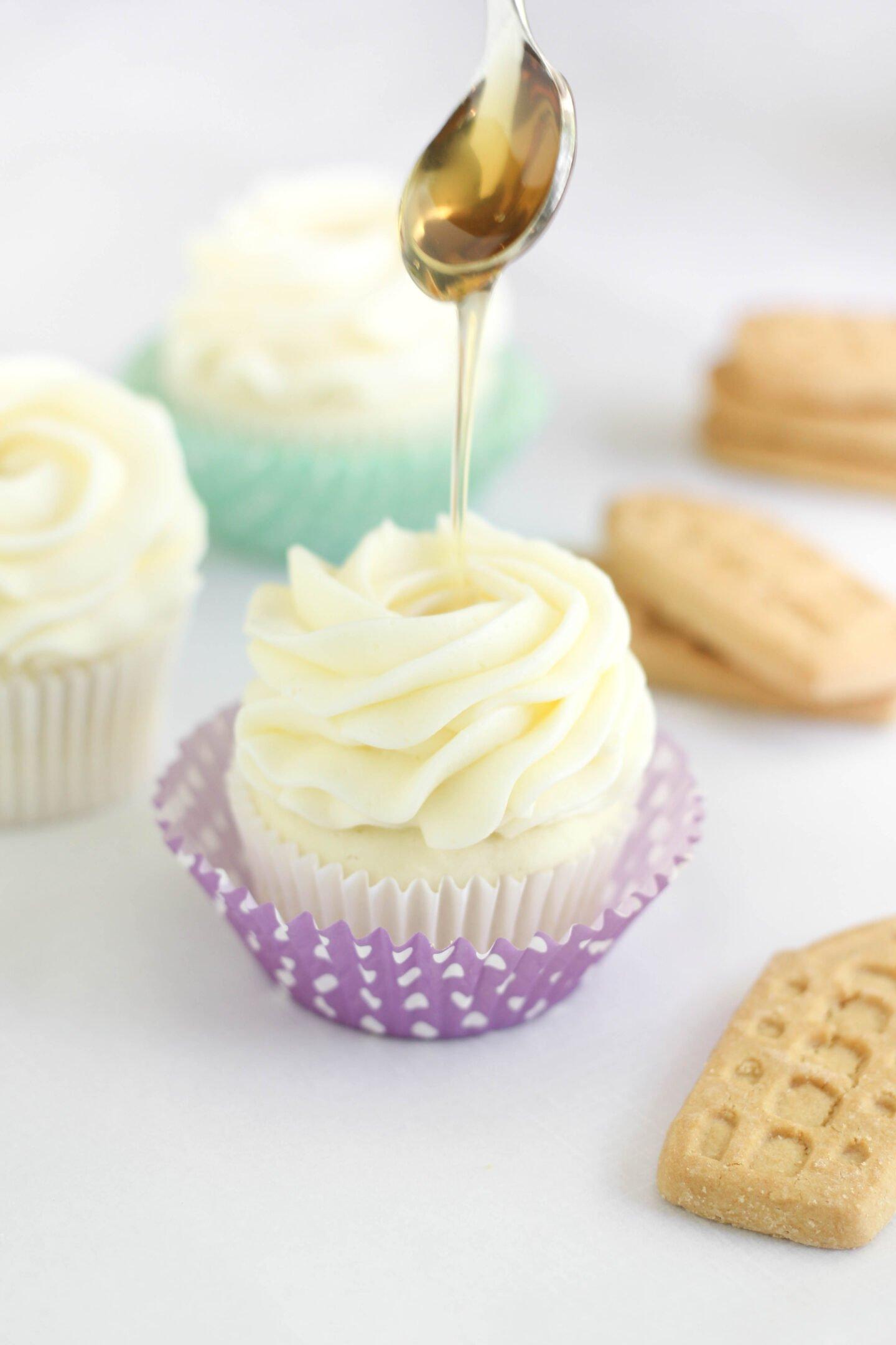Lavender Earl Grey Cupcakes